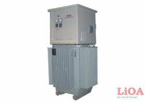 Ổn áp dầu 150kVA Điện áp vào 304V-420V ra 380V
